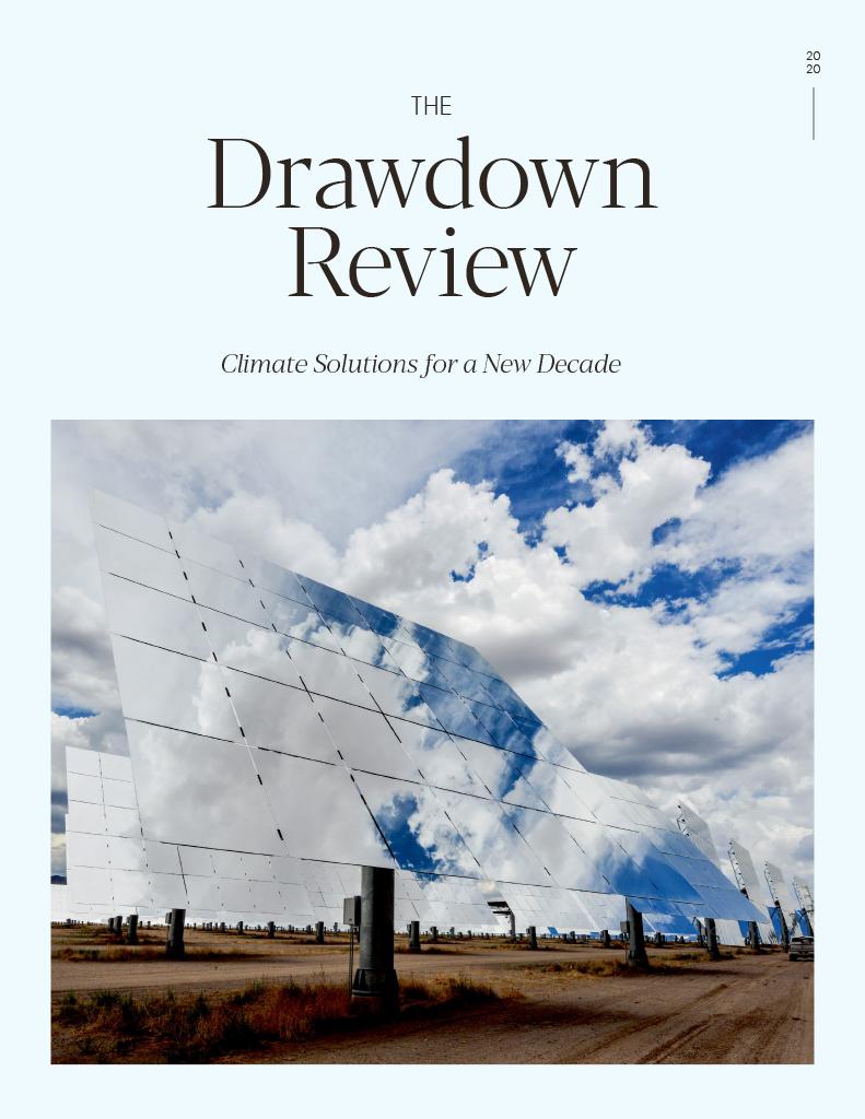 Drawdown Review 2020