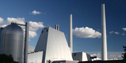 A modern power plant